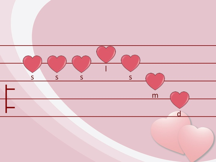 Who Will Be My Valentine on Color By Note Kodaly