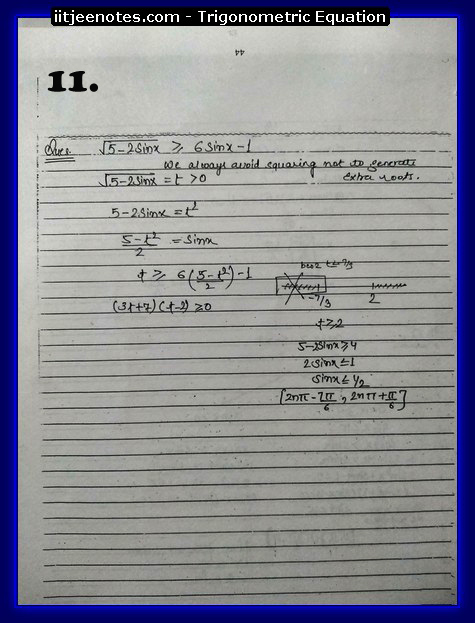 Trigonometric Equation images1