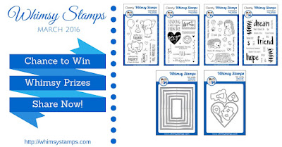 Whimsy Inspirations Blog: March 2016 Clearly Whimsy Stamps Release News and Prize Giveaway