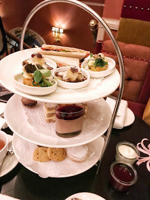 High afternoon tea Hotel Des Indes The Hague Netherlands