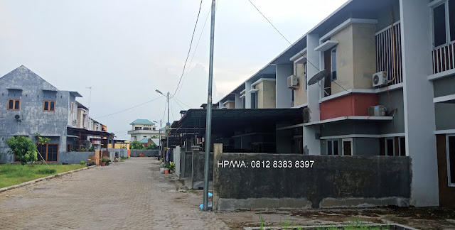 Row jalan Gaperta Harmony rumah murah minimalis 500 Juta 2 lantai lokasi sangat strategis di Jalan Banten Gaperta Ujung Medan