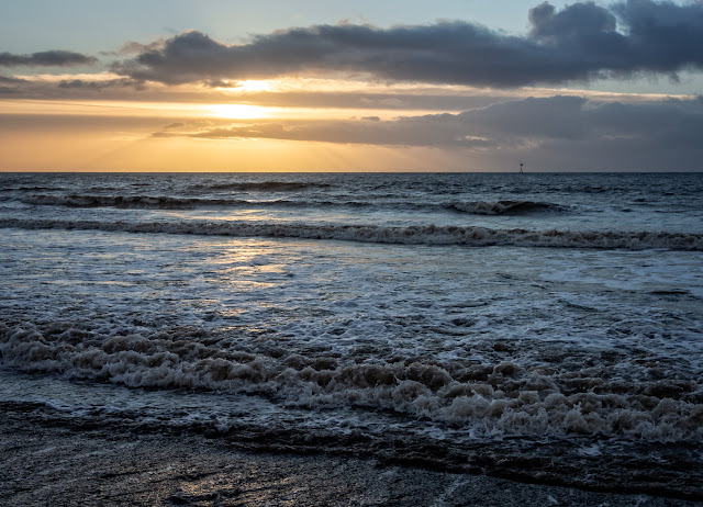 Photo of sunset over the Solway Firth