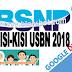 Kisi-Kisi Soal USBN SMP, SMA, dan SMK 2017/2018 BSNP
