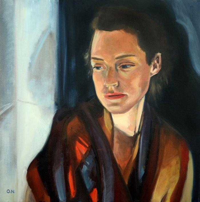 Шотландский художник. Owen Normand