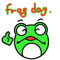 Round frog day
