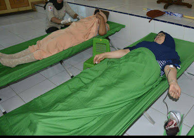 Sambut HUT Korpri, Ratusan ASN Langkat Donor Daraj