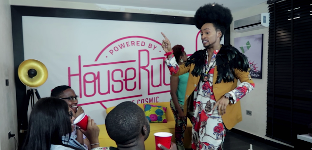 """Video: """"I am not straight, I am a sexual outlaw!"""" - Denrele Edun declares on #HouseRulesNG"""