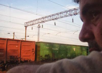 En algún punto entre Ucrania y Moldavia, viajando en tren.