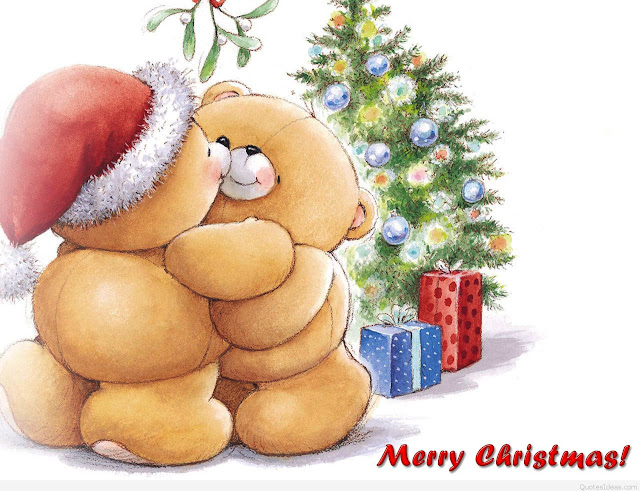 funny crtoon merry christmas greeting card picture image