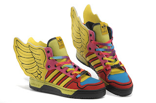 meet 9d393 80b84 Jeremy Scott x Adidas Originals JS Wings 2.0 Multicolor multi-colored  stitching very interesting, in assertive personality while maintaining the  playing ...