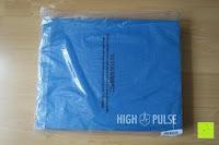 Verpackung: High Pulse Balance Pad – Die gelenkschonende Koordinationsmatte zum Training von Gleichgewicht und Stabilität sowie zur Therapie nach Muskelverletzungen (Blau)