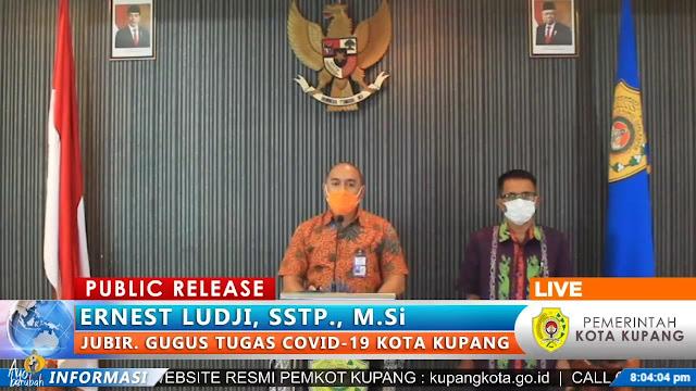 Ernest Ludji RIlis Jumlah Pasien COVID-19 di Kota Kupang Jadi 20 Orang