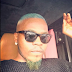 Rapper Olamide's debut blonde hair