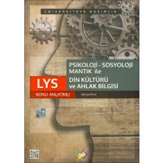 FDD LYS Psikoloji Sosyoloji Mantık ile Din Kültürü ve Ahlak Bilgisi Konu Anlatımlı