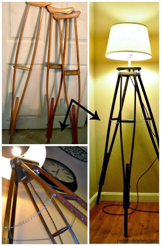 How To Recycle Recycling Old Crutches