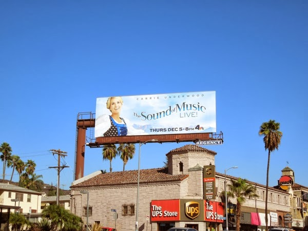 Daily Billboard: The Sound of Music Live TV billboard