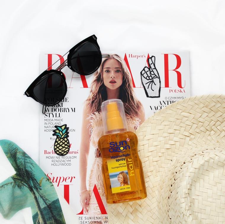 Jak chronić włosy przed słońcem? Ochronny spray do włosów SunOzon
