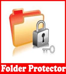 تحميل برنامج حماية وتشفير المجلدات بكلمة سر Folder Protector 6.38