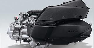 Mesin Yamaha XMAX 250cc