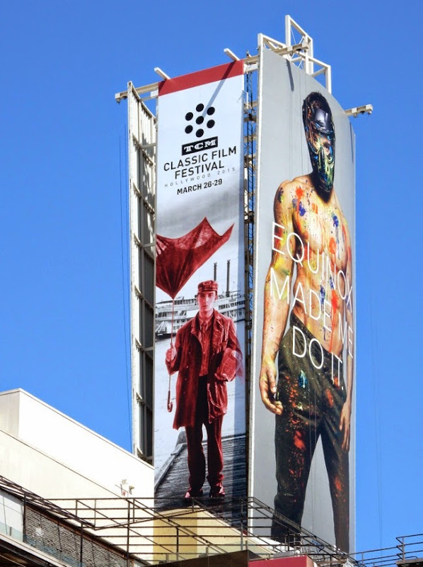 2015 TCM Classic Film Festival billboard