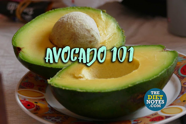 how many calories in half an avocado