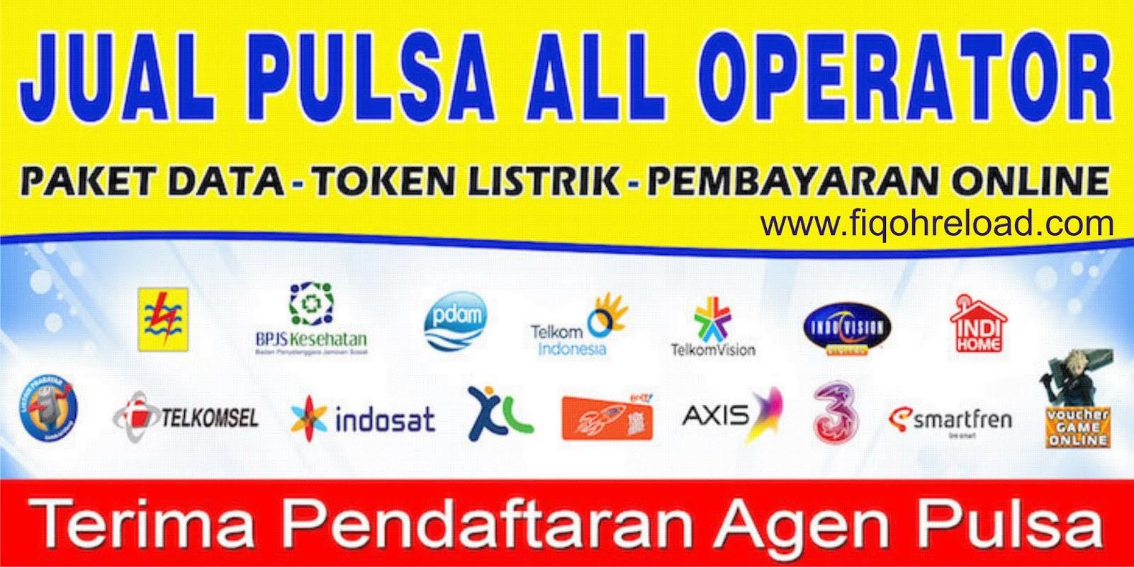 Loket Pendaftaran Agen Pulsa Kabupaten Boven Digoel Fiqoh Pulsa