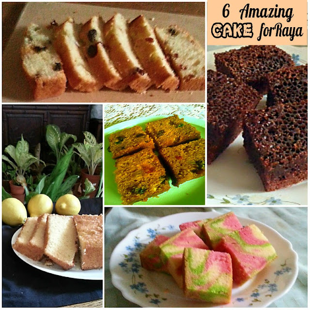 6 Amazing Cake for Raya Recipe @ treatntrick.blogspot.com