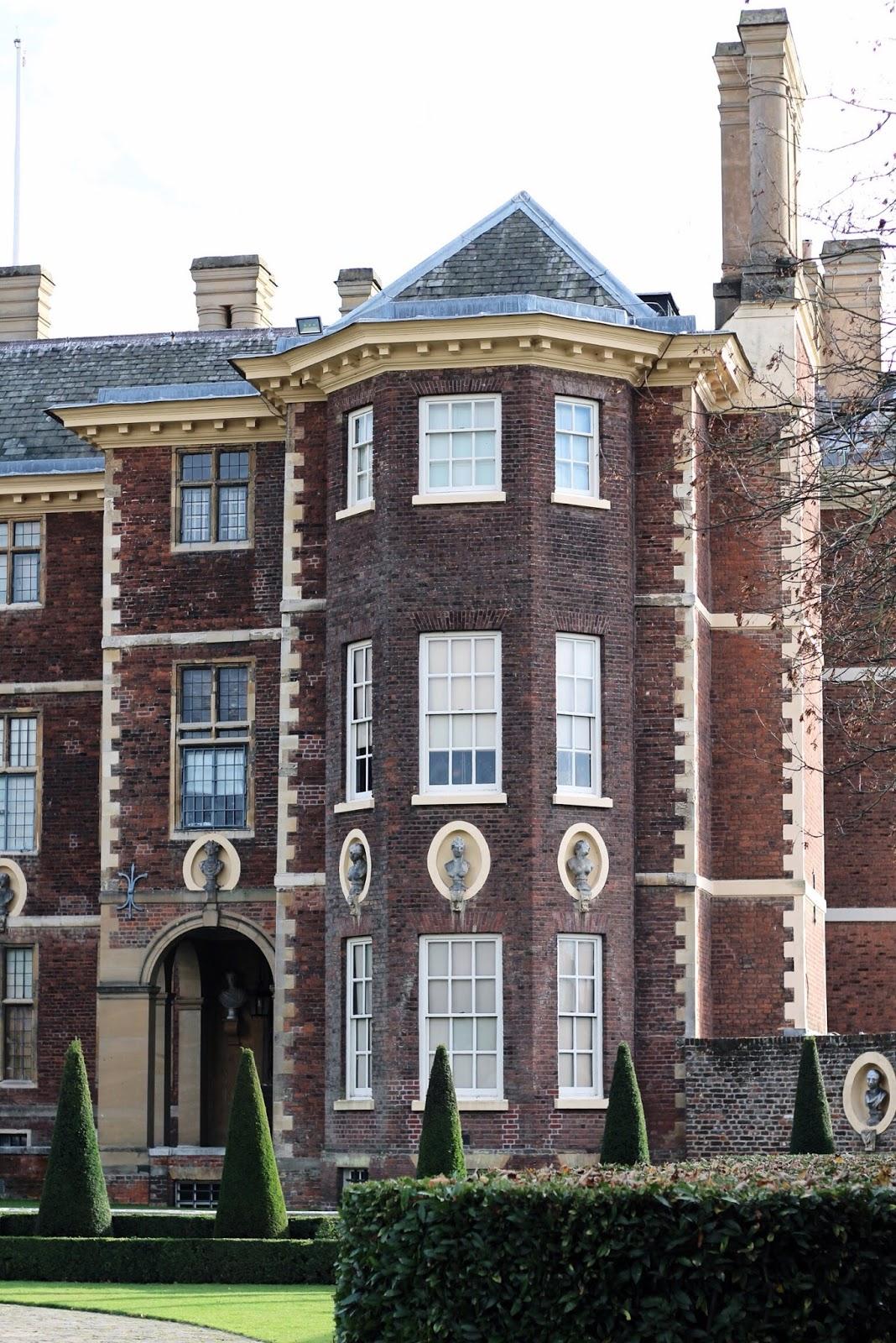 17th century Ham House building in Richmond London