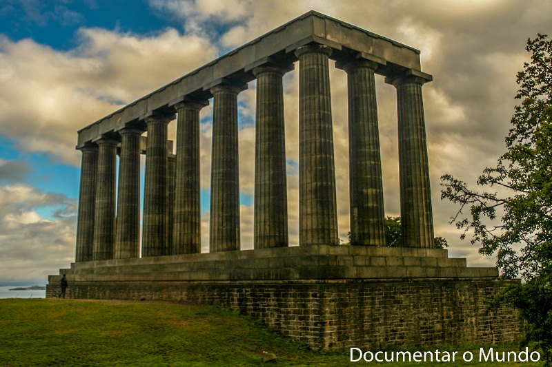 National Monument of Scotland; Calton Hill