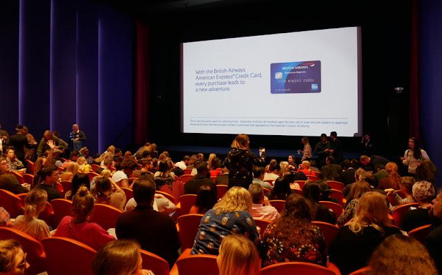 Screening room at the Ham Yard Hotel, Dive Bar - BA Amex event, London
