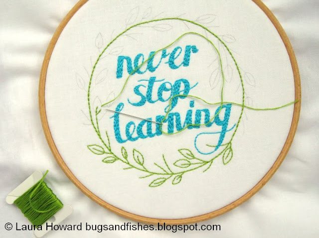 Stitching the leaves and branches