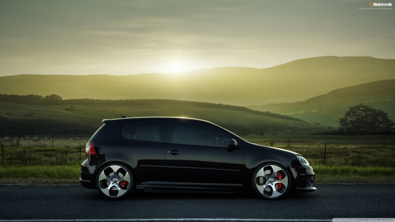volkswagen golf gti wallpaper auto keirning cars. Black Bedroom Furniture Sets. Home Design Ideas