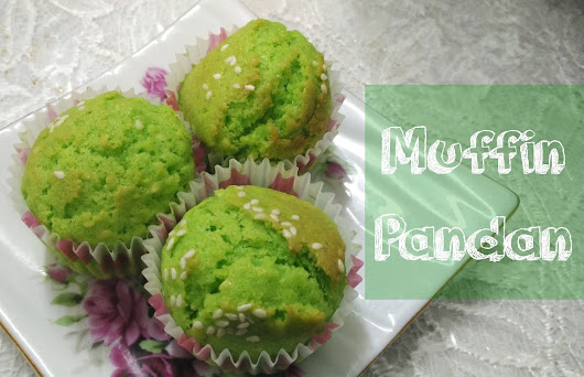 Muffin Pandan guna Air-Fryer Pensonic