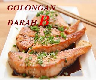Makanan sehat untuk diet golongan darah B