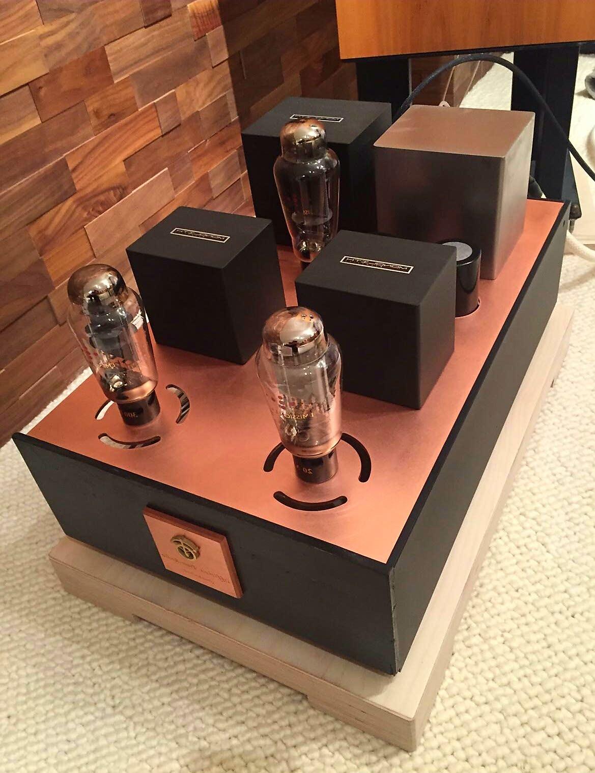 Officina Tron-audio Switzerland: L'amplificateur SE 300B-iS