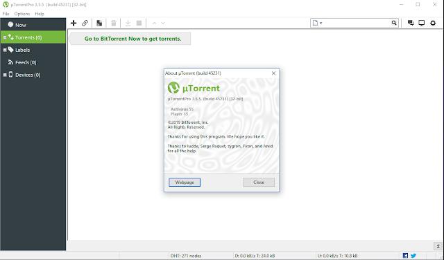 uTorrent Pro 3.5.5 build 45231 Full Crack