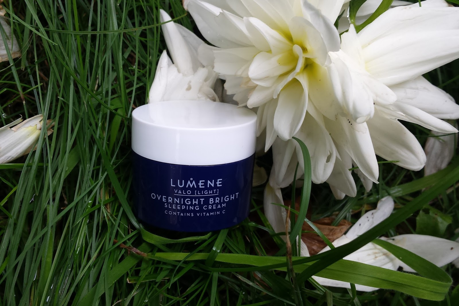 Lumene Overnight Bright Sleeping Cream Vitamin C crema de noche