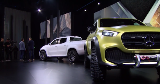 "The Mercedes-Benz Pickup ''The Concept"" has been revealed. Holy mother of Germans!!         