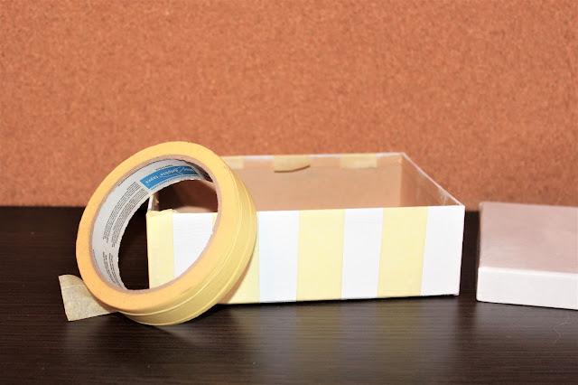 wiosenne pudełko diy