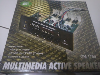 cara merangkai power amplifier Sound system Rumahan