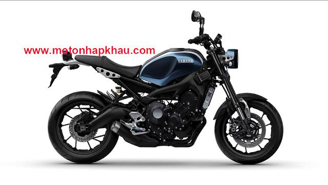 Yamaha XSR900 Màu Xanh