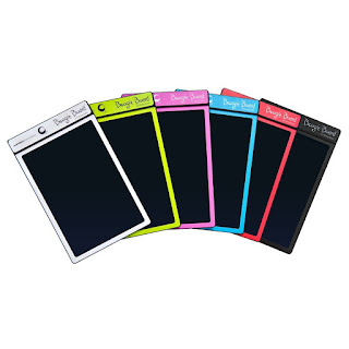 Boogie Board tablet - gift ideas for kids who love to doodle, write, & draw from And Next Comes L