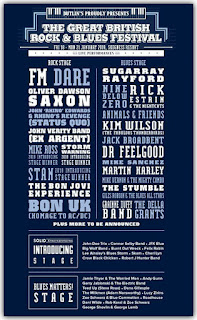 FM at Great British Rock and Blues Festival 2019 - poster