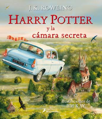 LIBRO - Harry Potter y La Camara Secreta  Edición Ilustrada : J.K. Rowling & Jim Kay  (Salamandra - Noviembre 2016)  LITERATURA INFANTIL & JUVENIL  Comprar en Amazon España
