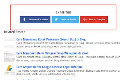 Cara Membuat Share Media Sosial Fast Loading di Blog 2