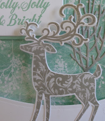 Bendy Cards, Craftyduckydoodah!, Dashing Deer, Stampin' Up! UK Independent  Demonstrator Susan Simpson, Supplies available 24/7 from my online store, Winter Woods,