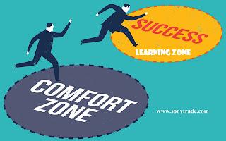 berani gagal sukses trading keluar dari zona nyaman