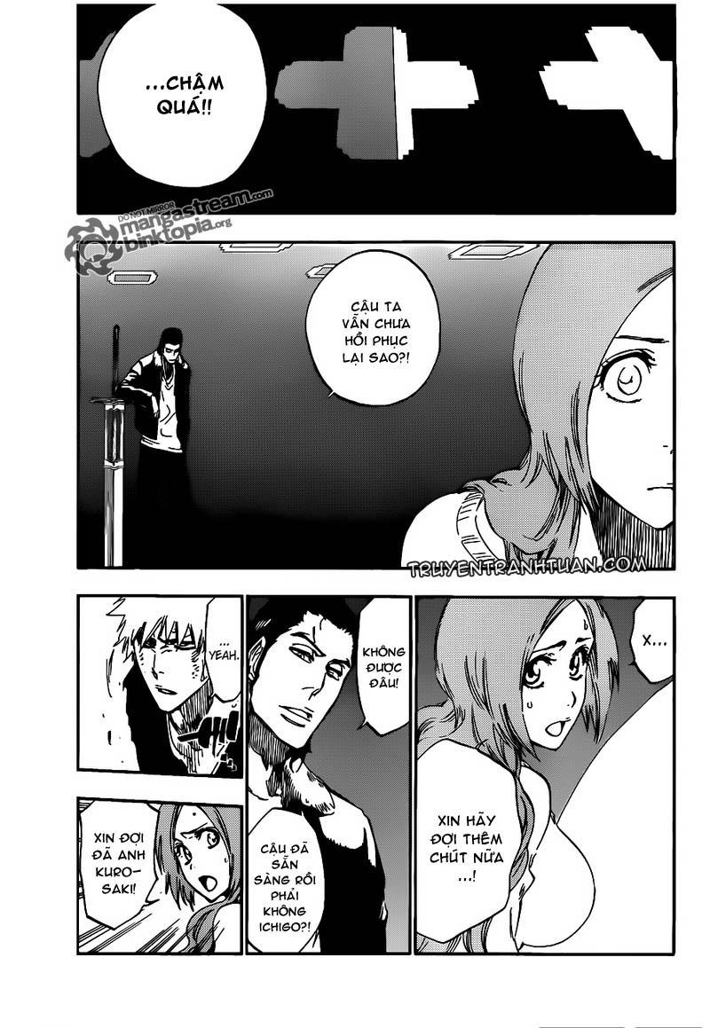 Bleach chapter 449 trang 11