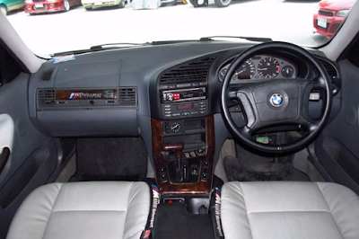 Interior BMW E36 Facelift