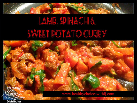 Lamb, Spinach & Sweet Potato Curry